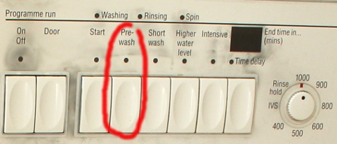 NEFF W4380 Washing Machine Panel