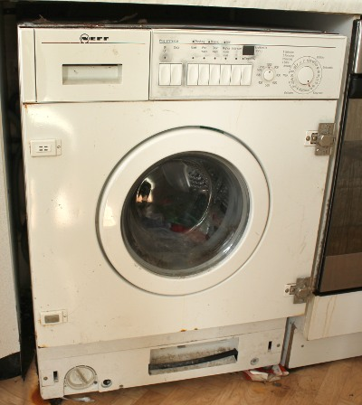 NEFF W4380 Washing Machine Front View