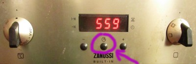 Zanussi Oven Front Panel