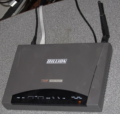 Billion BiPAC 7404VGO-M ADSL2+ Router