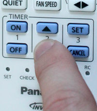 changing the time on the panasonic air conditioner remote control rh newspaint wordpress com panasonic air conditioner manual remote control panasonic air conditioner manual remote control