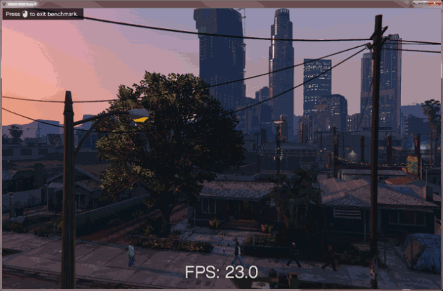 GTA V PC 23fps